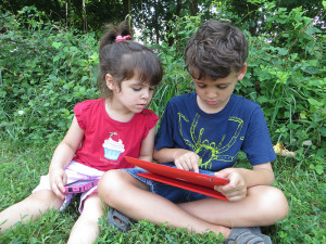 My kids and their sticky fingers all over my devices.
