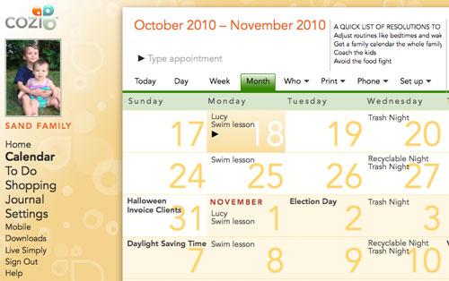 Cozi Calendar Yangah Solen