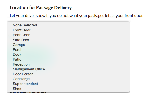 UPS My Choice: tell UPS where you want your packages delivered